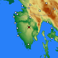 Nearby Forecast Locations - Pazin - Map