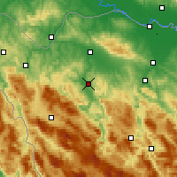 Nearby Forecast Locations - Sanski Most - Map