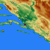 Nearby Forecast Locations - Neum - Map