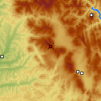 Nearby Forecast Locations - Luizi Calugara - Map