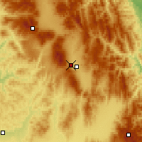 Nearby Forecast Locations - Miercurea Ciuc - Map