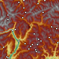 Nearby Forecast Locations - Brixen - Map