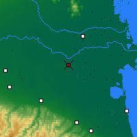 Nearby Forecast Locations - Ferrara - Map
