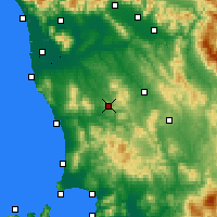 Nearby Forecast Locations - Volterra - Map