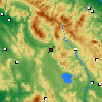 Nearby Forecast Locations - Arezzo - Map