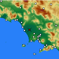 Nearby Forecast Locations - Grazzanise - Map