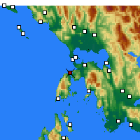 Nearby Forecast Locations - Lefkada - Map