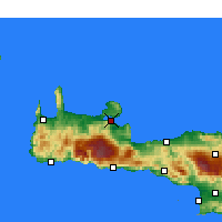 Nearby Forecast Locations - Souda - Map