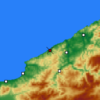 Nearby Forecast Locations - Zonguldak - Map