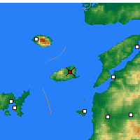 Nearby Forecast Locations - Imbros - Map