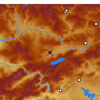Nearby Forecast Locations - Elazığ - Map