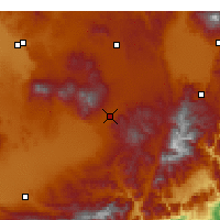 Nearby Forecast Locations - Niğde - Map