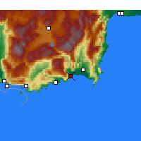 Nearby Forecast Locations - Finike - Map