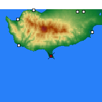 Nearby Forecast Locations - Limassol - Map