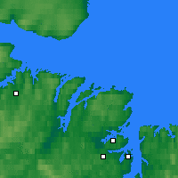 Nearby Forecast Locations - Tsypnavolok - Map