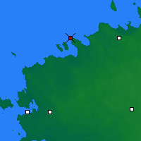 Nearby Forecast Locations - Pakri - Map