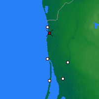 Nearby Forecast Locations - Palanga - Map