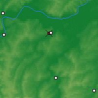 Nearby Forecast Locations - Menzelinsk - Map