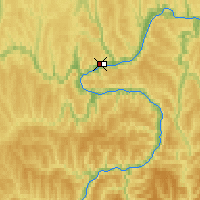 Nearby Forecast Locations - Ust-Kut - Map