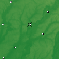 Nearby Forecast Locations - Hadiach - Map