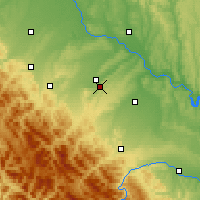 Nearby Forecast Locations - Ivano-Frankivsk - Map