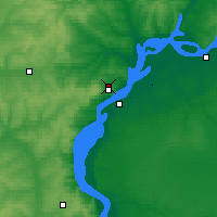 Nearby Forecast Locations - Saratov - Map