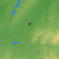 Nearby Forecast Locations - Rubtsovsk - Map