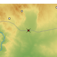 Nearby Forecast Locations - Tell Abyad - Map