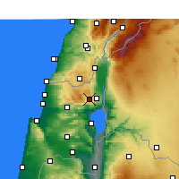 Nearby Forecast Locations - Har-knaan - Map