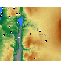 Nearby Forecast Locations - Irbid - Map