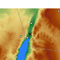 Nearby Forecast Locations - Aqaba - Map