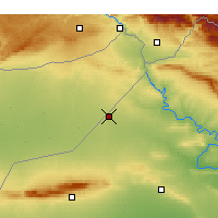 Nearby Forecast Locations - Rabiah - Map