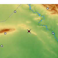 Nearby Forecast Locations - Tal Afar - Map