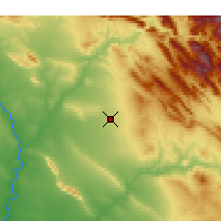 Nearby Forecast Locations - Erbil - Map