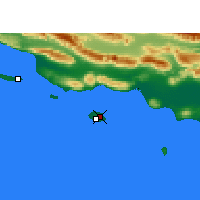 Nearby Forecast Locations - Kish - Map