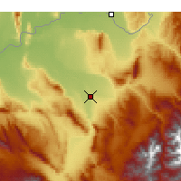Nearby Forecast Locations - Kunduz - Map