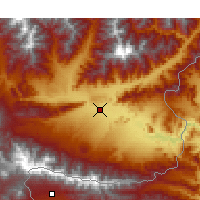 Nearby Forecast Locations - Jalalabad - Map