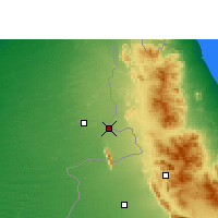 Nearby Forecast Locations - Buraimi - Map