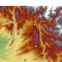 Nearby Forecast Locations - Kakul - Map