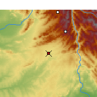 Nearby Forecast Locations - Islamabad - Map