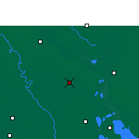 Nearby Forecast Locations - Madaripur - Map