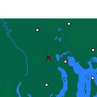 Nearby Forecast Locations - Barisal - Map