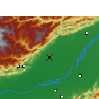Nearby Forecast Locations - North Lakhimpur - Map