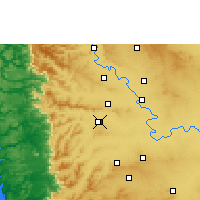 Nearby Forecast Locations - Kolhapur - Map