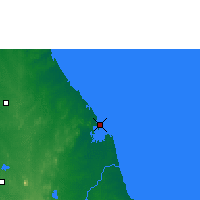 Nearby Forecast Locations - Trincomalee - Map
