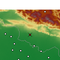 Nearby Forecast Locations - Pipara Simara - Map