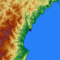 Nearby Forecast Locations - Chongjin - Map