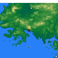 Nearby Forecast Locations - Haeju - Map