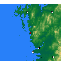 Nearby Forecast Locations - Boryeong - Map