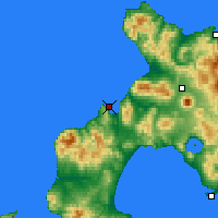 Nearby Forecast Locations - Suttsu - Map